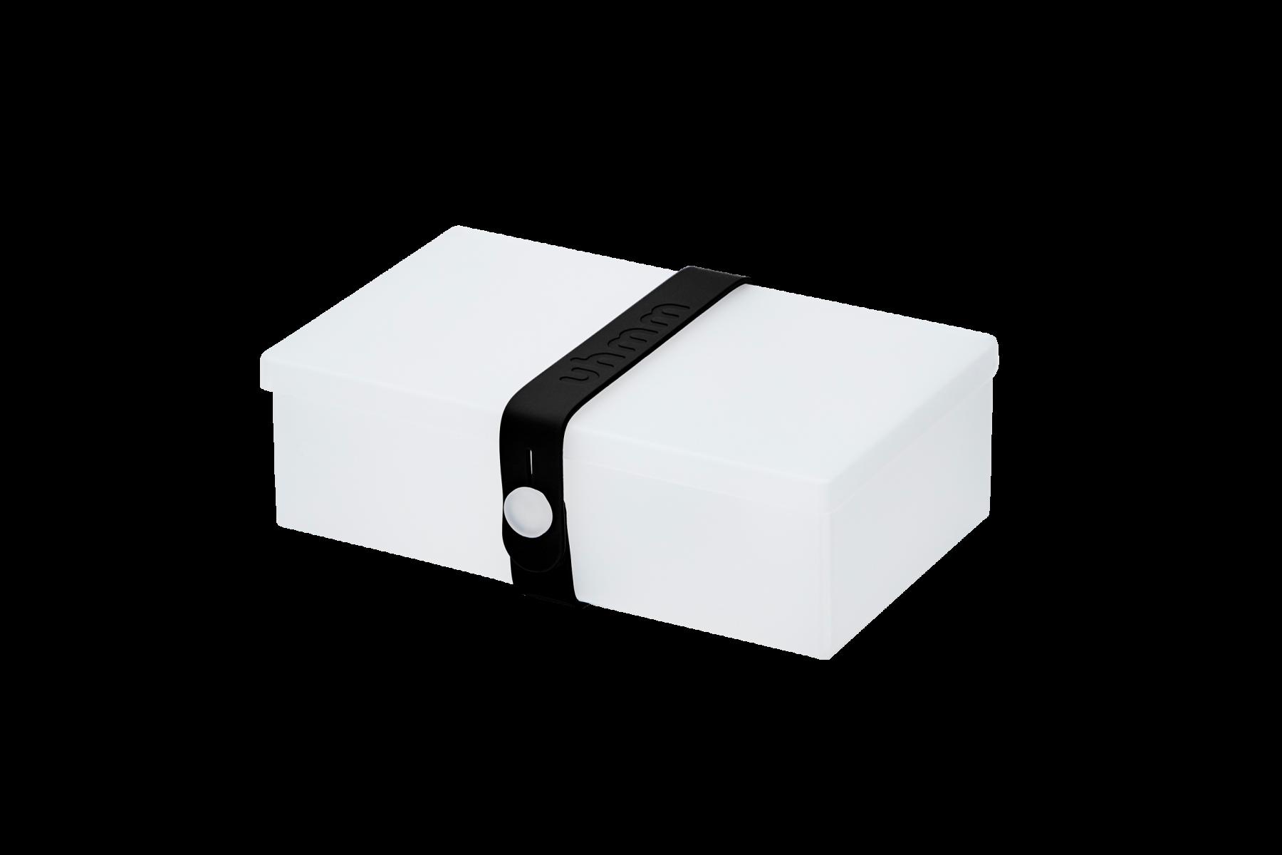 No. 01 Transparent Box/Black Strap - uhmmbox.com